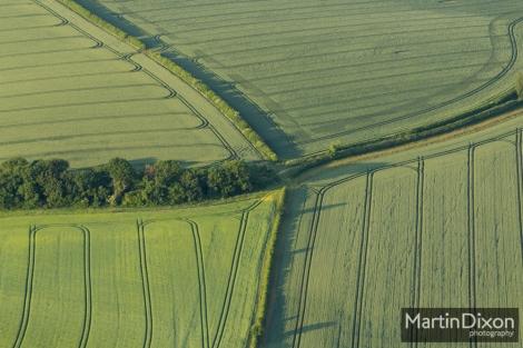 Boundary of four fields